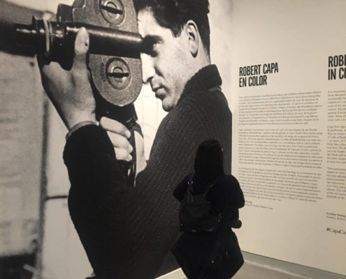 Robert Capa en Color | CaixaForum Sevilla