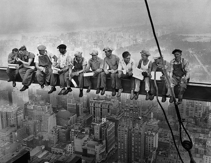 fotografía obreros Nueva York | La historia