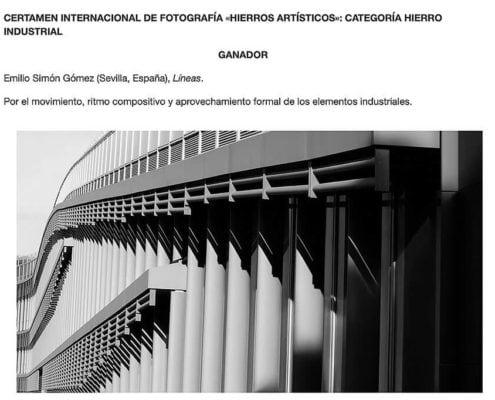 PREMIO DE FOTOGRAFIA INTERNACIONAL 2